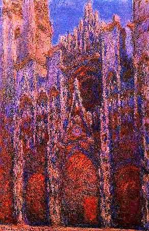 .......Monet Claude........ 7_Rouen_Cath_coucher